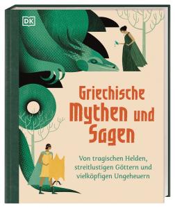 Buchcover Jean Menzies Griechische Mythen und Sagen.   Von tragischen Helden, streitlustigen Göttern und vielköpfigen Ungeheuern