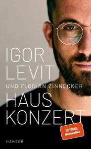 Buchcover Igor Levit und Florian Zinnecker Hauskonzert